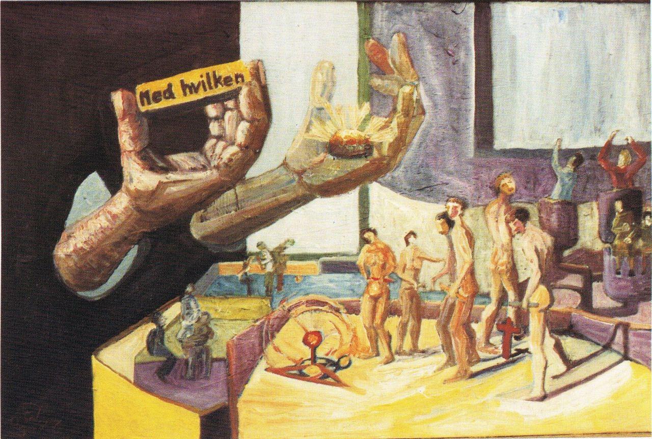 malerier nøgne mennesker